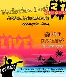 Live @Bar Follia